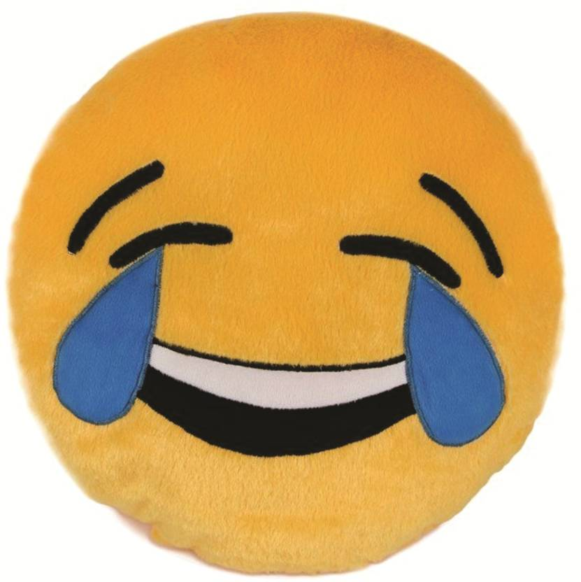 skylofts laughing emoji stuffed smiley pillow cushion 35 cm