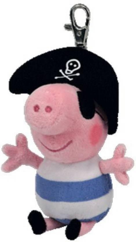 ac37102c759 ty Beanie Babies Pirate George Peppa Pig Clip (Uk Exclusive) (Pink)
