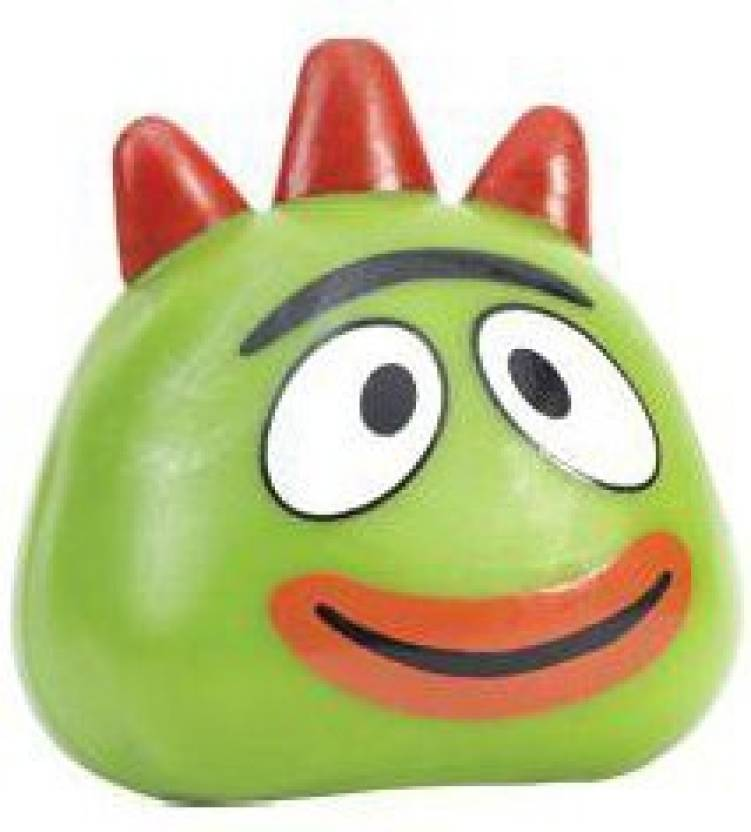 Yo Gabba Gabba Basic Fun Squishy Pal Brobee (3 Inch) - 8 inch (Green) 4c256888d