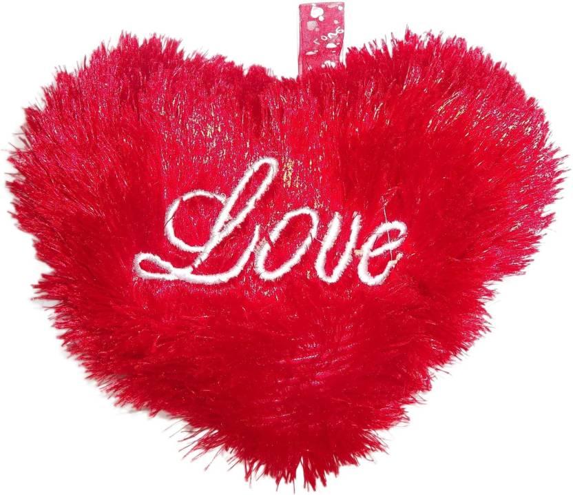 Kotak Sales KS Love Heart Cute Soft Toy Buddies Teddy Bear Size 23cm Gift Love, Birthday, Kids, Valentine (Red) - 23 cm (Red)