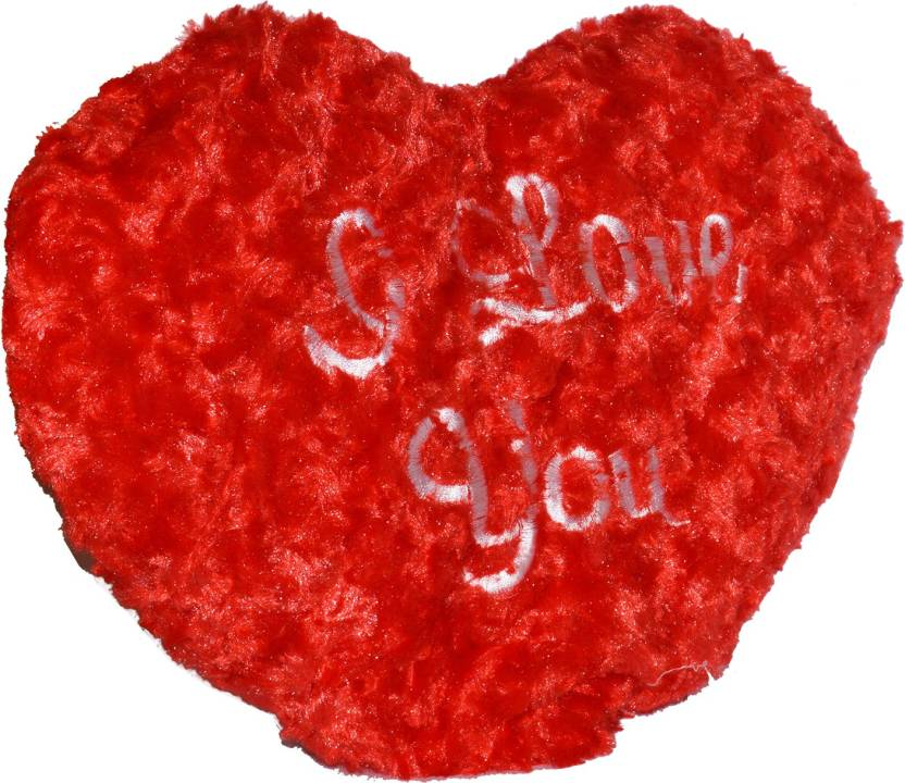 toyzstation i love you heart red color soft pillow for valentine 30