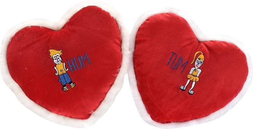 9bf347673e74 Cally Heart Shape Hum Tum Soft Cushion Plush Pillow Gift For Valentine or  Birthday - 30