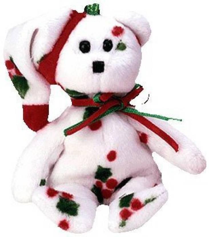 64f75666e5c TY Beanie Babies Jingle Beanies 1998 Holiday Teddy - Jingle Beanies ...