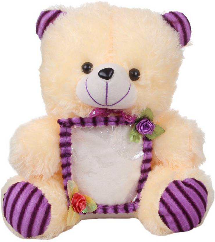 Deals India Deals India Cream Photo Frame Teddy Stuffed Soft Plush