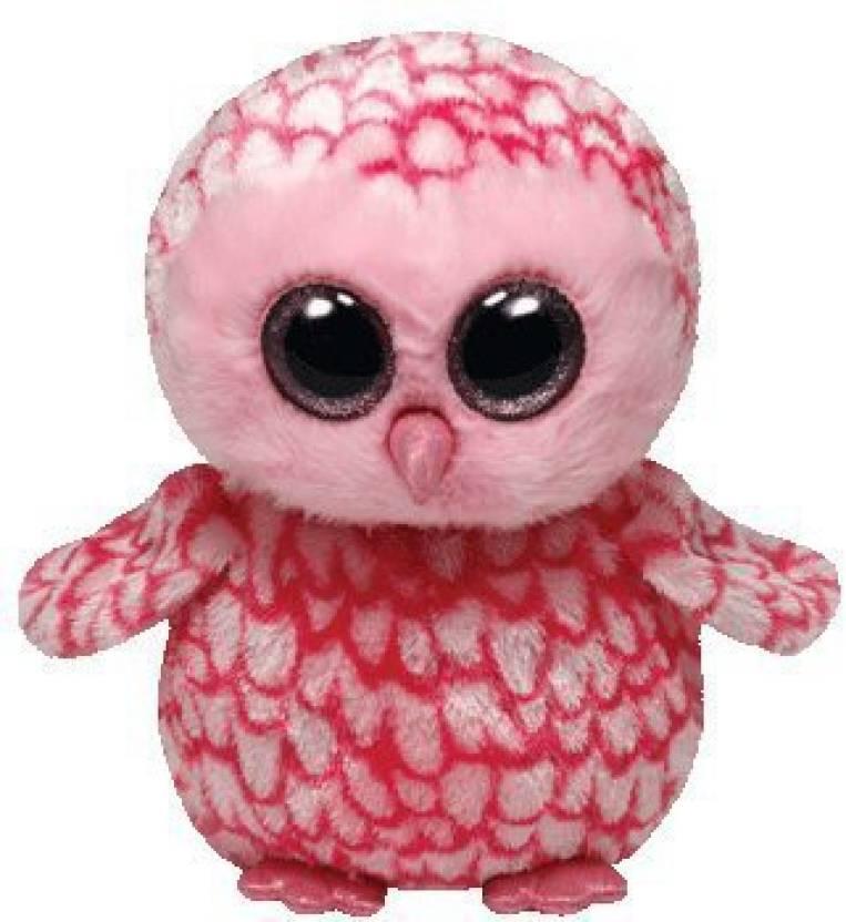 901bb81d6b5 Ty Beanie Boos Pinky Pink Barn Owl Plush - 20 inch - Pinky Pink Barn ...