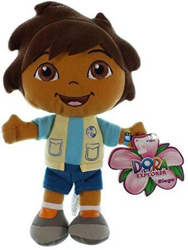 Dora The Explorer Diego Collectible Plush