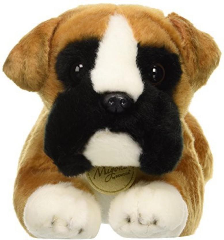 11 Inch Miyoni Boxer Dog Plush Stuffed Animal by Aurora