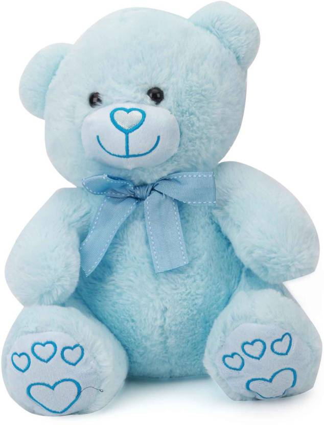 Starwalk Baby Blue Bear Plush with Bow 30 cm  - 30 cm