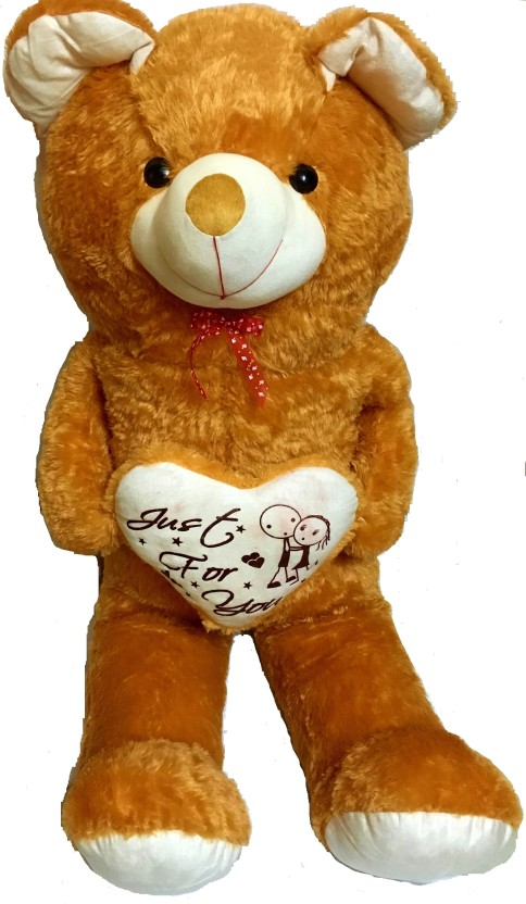 Toys Gallery 5 Feet Brown Teddy Bear Jumbo Sized - 152 cm (Brown)
