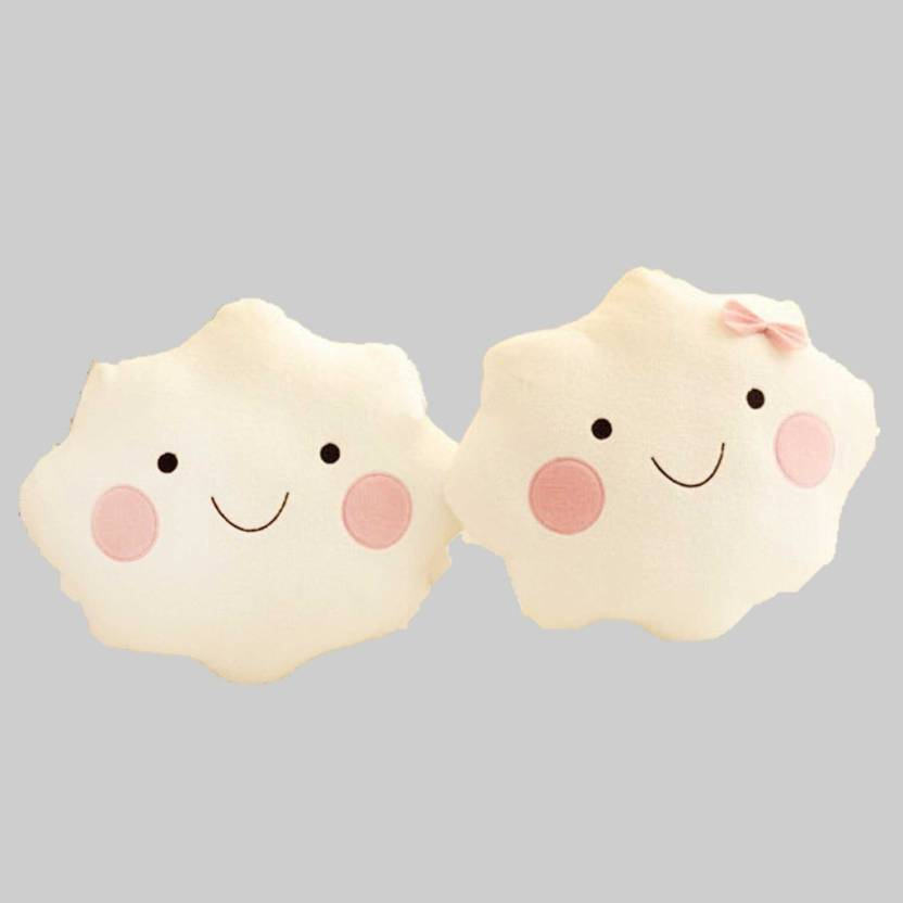 StyBuzz Cloud Couple    10 inch White