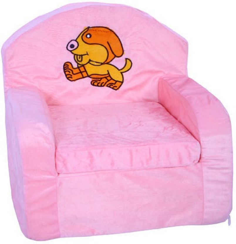 Hugg Babypink Sofa   18 Inch