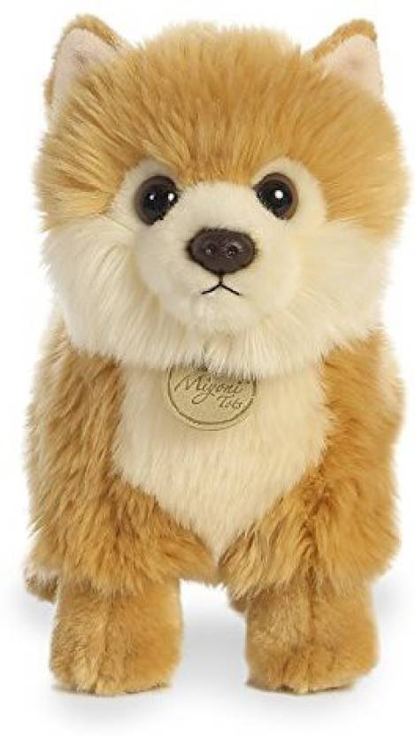Aurora World Miyoni Tots Pomeranian Puppy Plush World Miyoni Tots