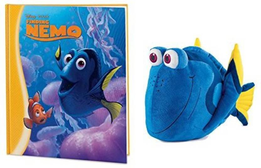 Kohl S Cares Disney Finding Nemo Book And Dory Plush Set 25 Inch