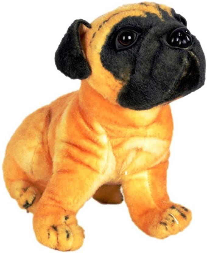 Vrv Brown Pug Soft Toy 20 Cm Brown Pug Soft Toy Buy Pug Toys
