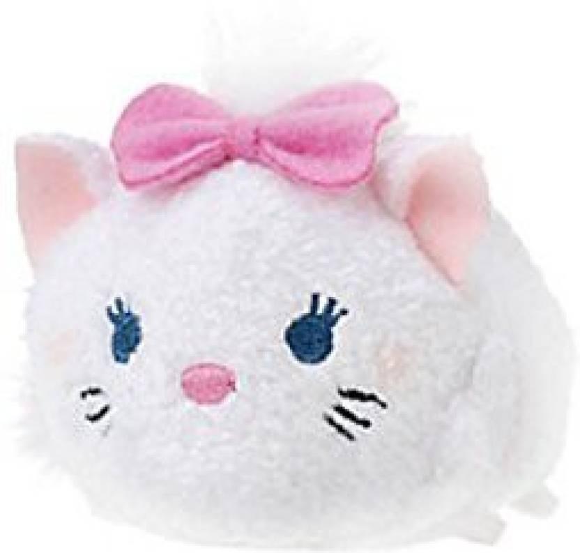 The Aristocats Disney Marie ''Tsum Tsum'' Plush Mini 3 1/2'' - 6 inch (White )