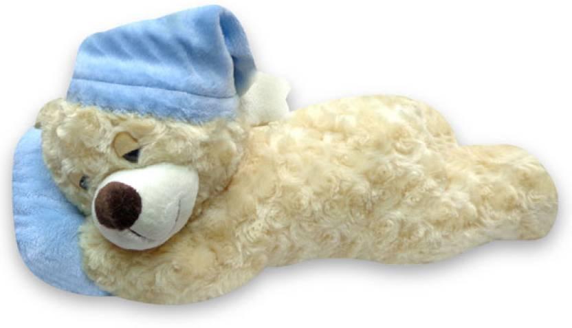 archies sleeping teddy 7 8 inch sleeping teddy buy teddy bear