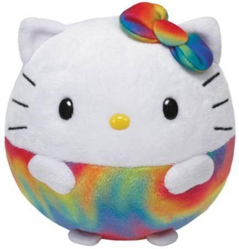 TY Beanie Babies Hello KitRainbow Plush - Hello KitRainbow Plush ... 2de325d833e2