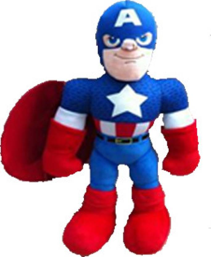 e939c2c2488 Marvel Captain America 15 inch Plush Toy - 15 Inch - Captain America ...