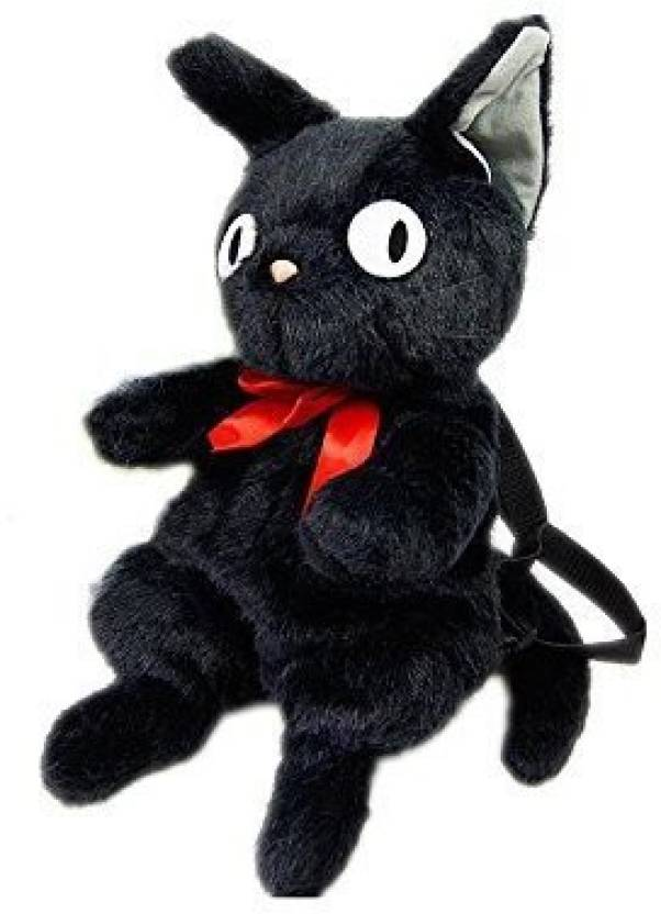 Zzz 45cm 18inches Kikis Delivery Service Small Black Cat Jiji Plush Doll Bag Backpack Japanese Anime 24 Inch Multicolor302