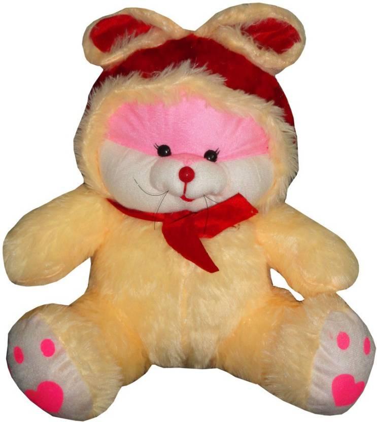 fa62f5986872 Atorakushon Atorakushon 35 Cm Aprrox Cute Rabbit Teddy Bear Soft Stuffed  Plush Toy Kid Children Infant love valentine couple Birthday Gift - 35 cm  ...