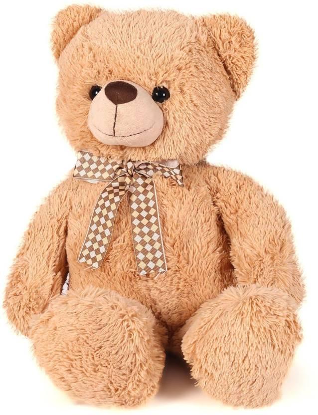 Starwalk Classic bear with Ribbon Light Brown (46 cm)  - 46 cm