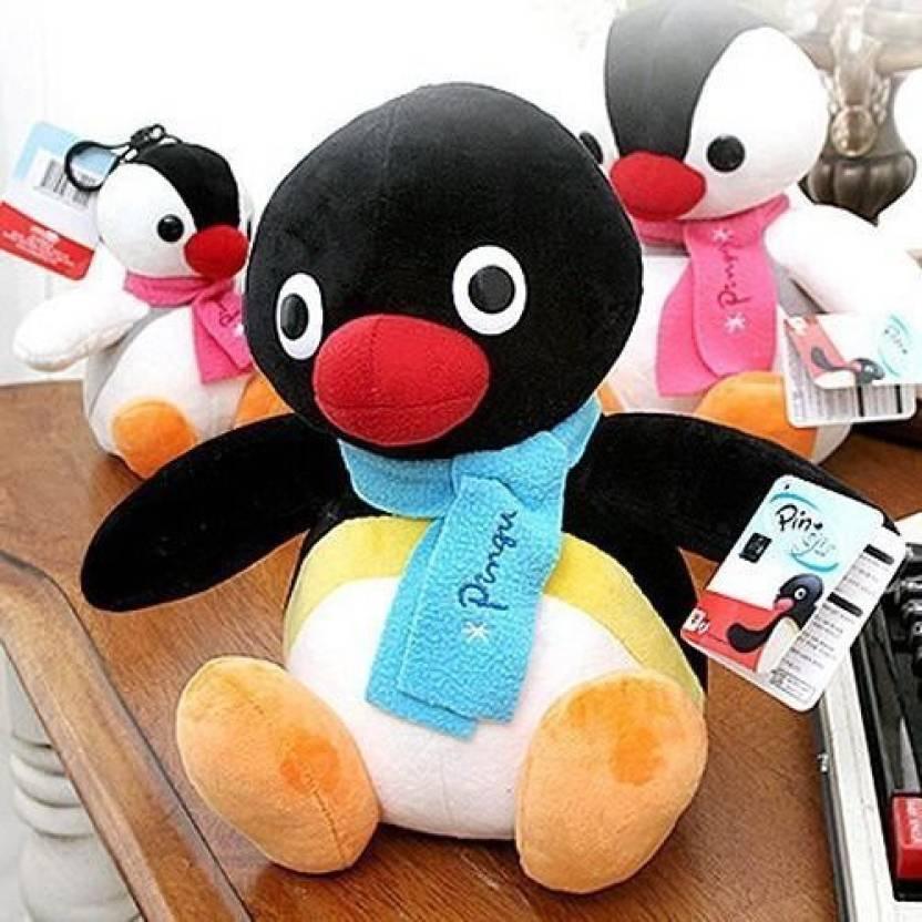 61934cedc6ab PLUSH TOY Pingu character Penguin stuffed animal plush black 10 Inch - 24  inch (Multicolor159)