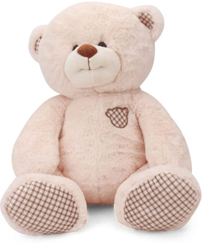 Starwalk Smiling Bear Plush Beige Color 36 cm  - 36 cm