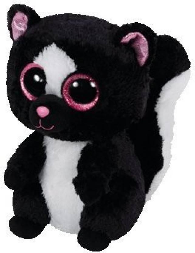 10ace975276 Ty Beanie Boos Ty Beanie Boos Flora Black White Skunk Plush - 20 inch  (Multicolor)