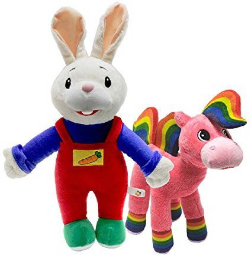 Baby First Corporation TV Plush Set - Harry the Bunny and