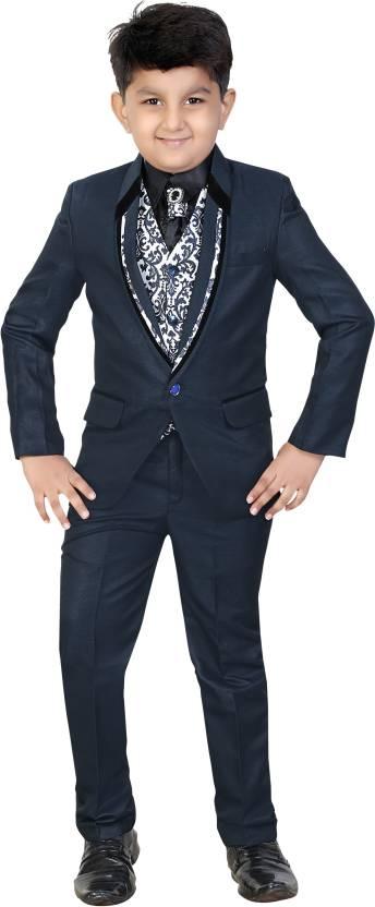 ecf6e7b68 Kute Kids Coat Suit Set Solid Baby Boys Suit - Buy Dark Blue Kute ...