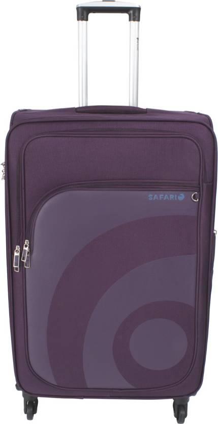 444c740fdb2 Safari WAVE Expandable Cabin Luggage - 22 inch Purple - Price in ...