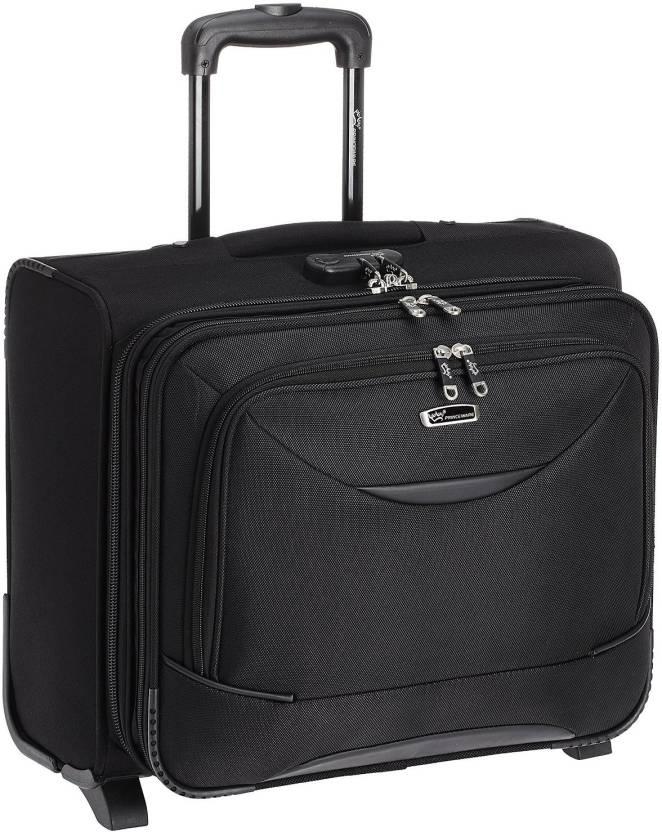 dd4d0fe185fc Princeware Pilot Cabin Luggage - 16 inch Black - Price in India ...