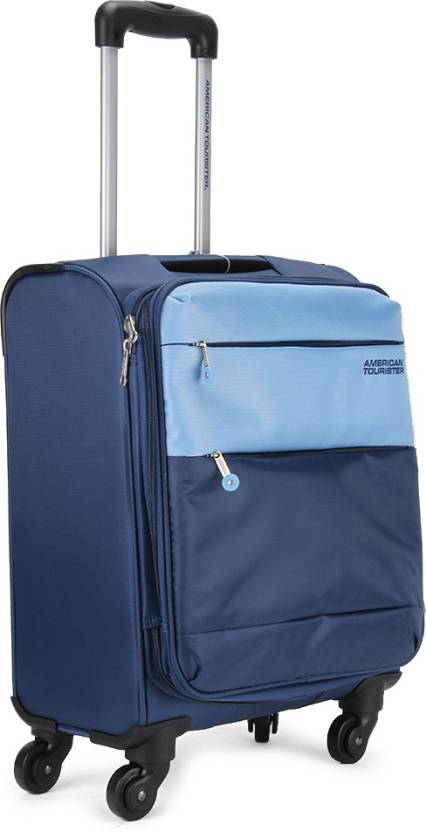 d805d6d48 American Tourister Cheer-lite Expandable Cabin Luggage - 20 inch (Blue)