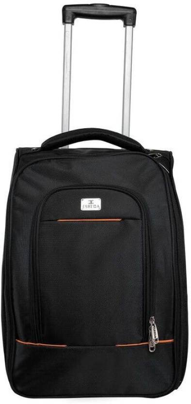c510a41b8a6f ESBEDA TROLLEY BAG-BLACK-TB01-1134 Cabin Luggage - 20 inch Black ...