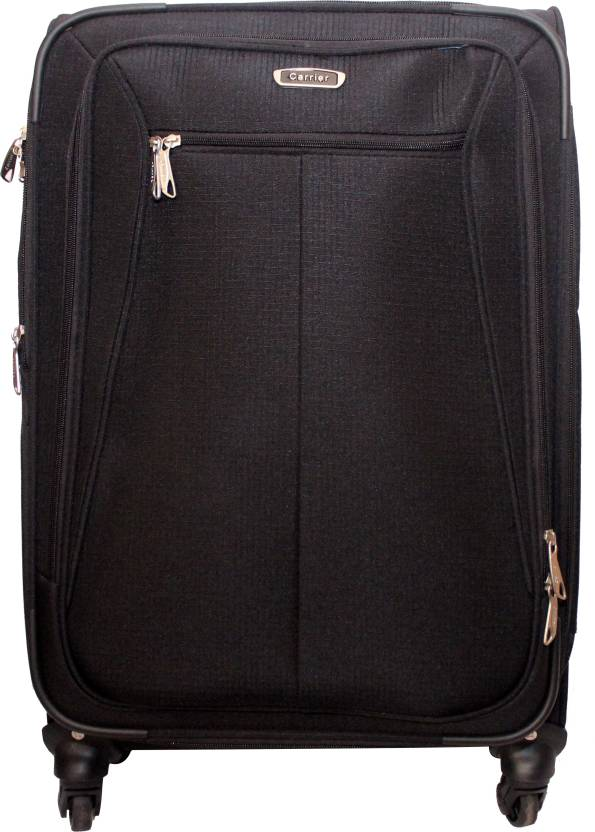 Carrier Black-01 Check-in Luggage - 24 inch Black - Price in