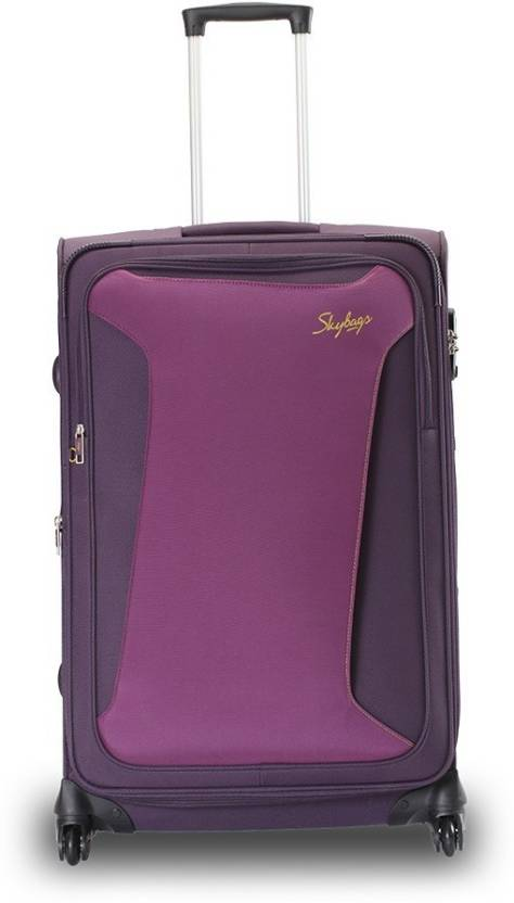 5202fbb00bf5 Skybags Skylite plus Check-in Luggage - 28 inch Purple - Price in India