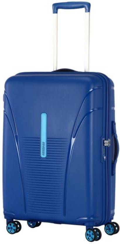 a8d4f6511 American Tourister SKYTRACER Cabin Luggage - 22 inch HIGHLINE BLUE ...