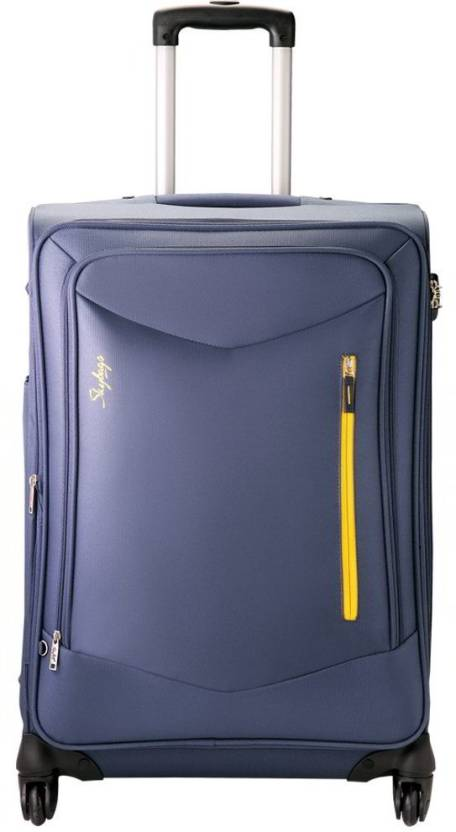 0b85ac1c4 Skybags Murphy Check-in Luggage - 31 inch Denim Blue - Price in ...