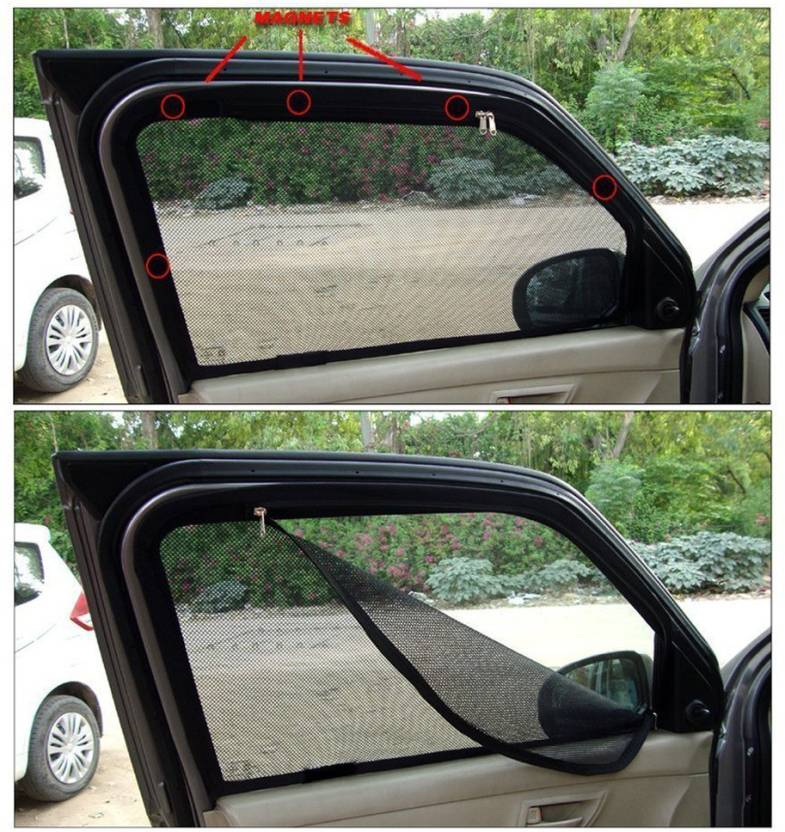 Carway Side Window Sun Shade For Nissan X Trail Price In India Buy