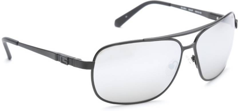 57a31fe624 Buy Guess Aviator Sunglasses Grey