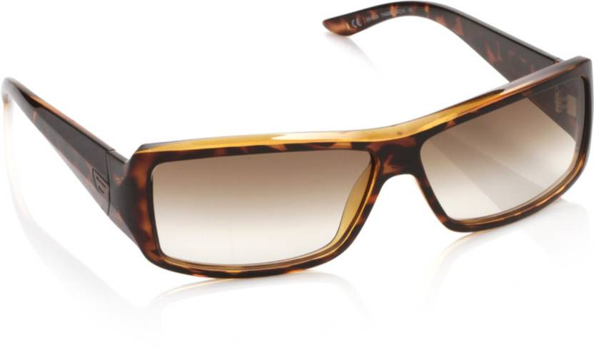 9d549bf40a Diesel Round Sunglasses (Brown)
