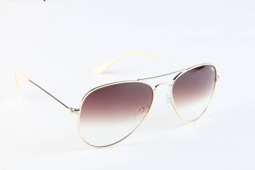 a8c8b62d44 Buy IDEE Aviator Sunglasses Brown For Men Online   Best Prices in ...