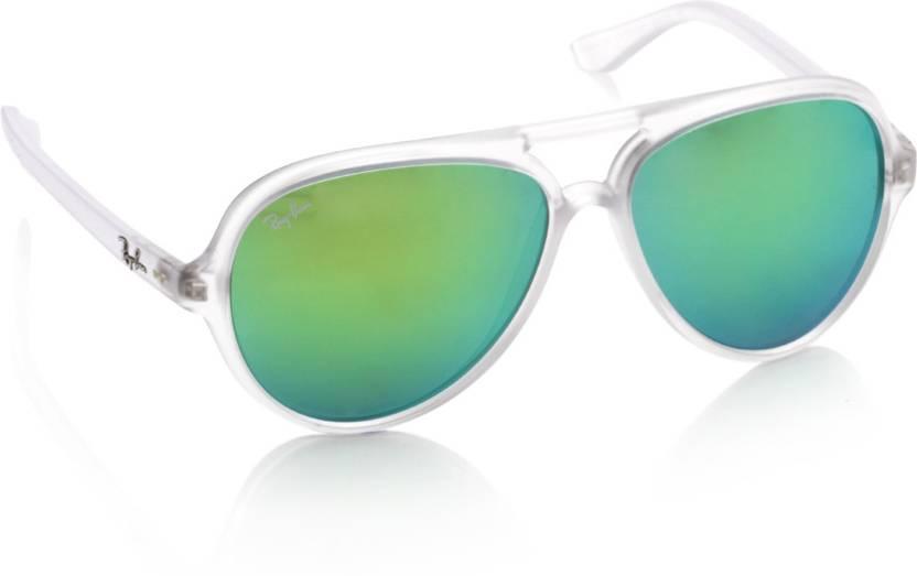 02817d95fc Buy Ray-Ban Aviator Sunglasses Blue, Green For Men Online @ Best ...