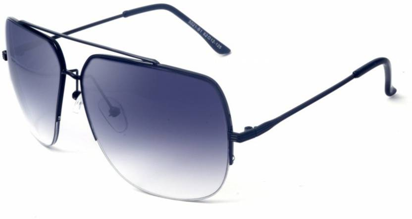 94691aa965 Buy Macv Eyewear Rectangular Sunglasses Black For Men   Women Online ...