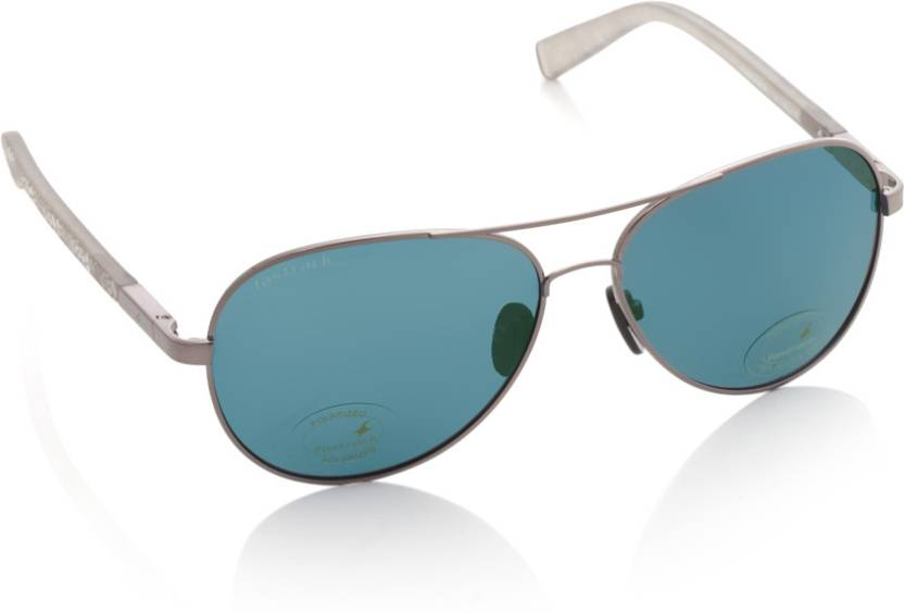 b541e36ac9 Buy Fastrack Aviator Sunglasses Blue For Men   Women Online   Best ...