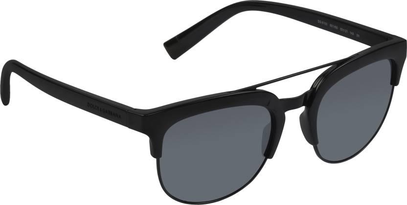 dfad2b5d00 Buy Dolce   Gabbana Oval Sunglasses Grey For Men   Women Online ...
