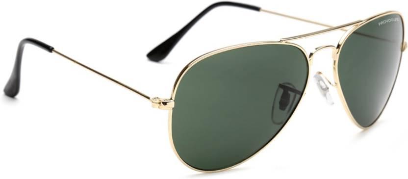 Provogue PV1025-Gld-G15 Aviator Sunglasses