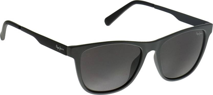 9f81841d41 Buy Pepe Jeans Wayfarer Sunglasses Violet For Men   Women Online ...