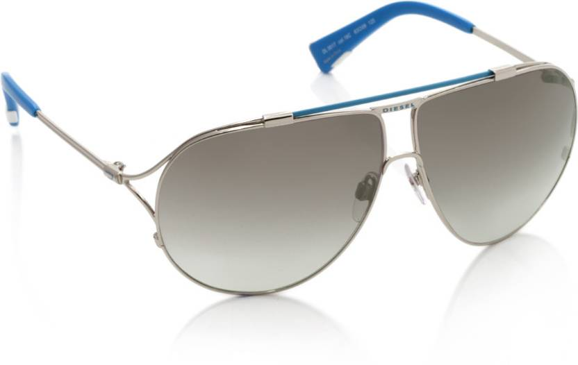 a22ac659102e Buy Diesel Aviator Sunglasses Brown For Men   Women Online   Best ...