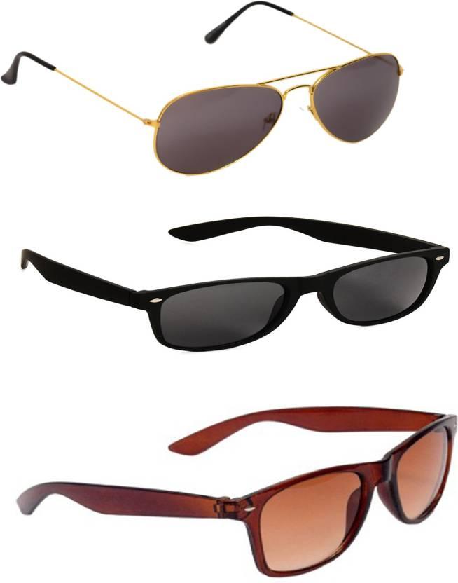 Barbarik Wayfarer, Aviator Sunglasses